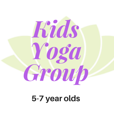 Kids Yoga Group 5-7yrs Web